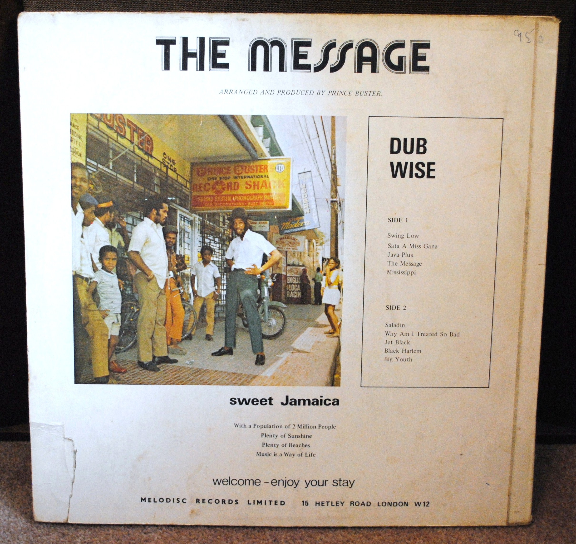 Message Dubwise reverse